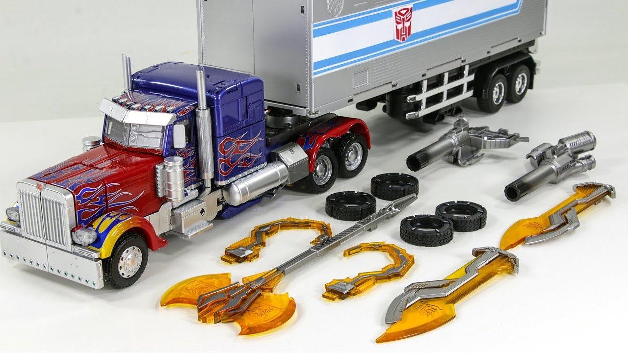 Black Mamba Transformers toy Alloy enlargement LS-03 Optimus Prime God of war