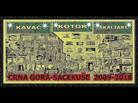CRNA GORA-SAČEKUŠE  2009-2018