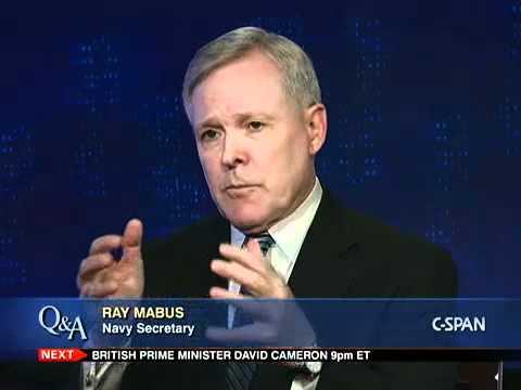 Q&A: Ray Mabus, Navy Secretary