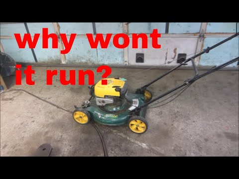 My Lawn Mower Won T Start How To Fix It For Free Doovi