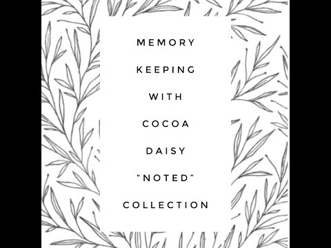 Memory Keeping January 2020 #cocoadaisy #memorykeeping #bighappyplanner
