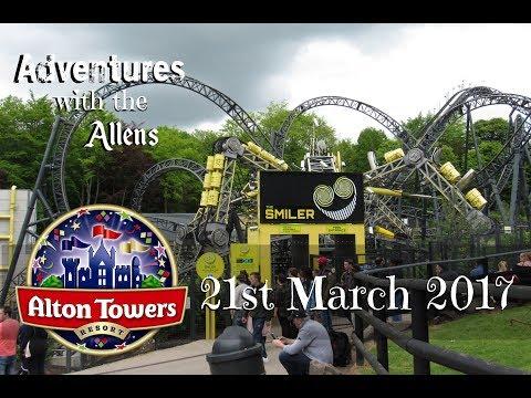 Alton Towers - Sunday 21st May 2017