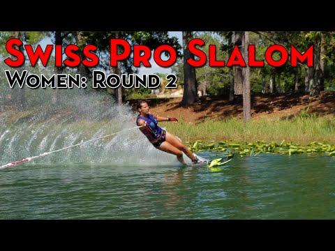 2016 Swiss Pro Slalom: Women's Round 2