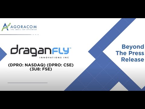 AGORACOM: DraganFly $DPRO Will Advance Both Drone Racing