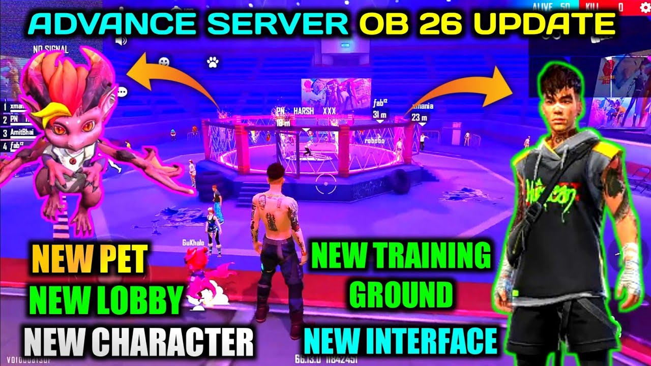 Download Advance Server First Look 😚 New Gun, Character, Pet & Many More ❤️ OB 26 Update