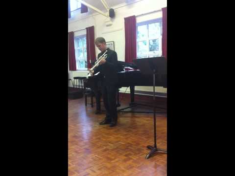 Matthew Muckey (Associate Principal Trumpet NY Phil.) At His Workshop In Bromley, London; UK