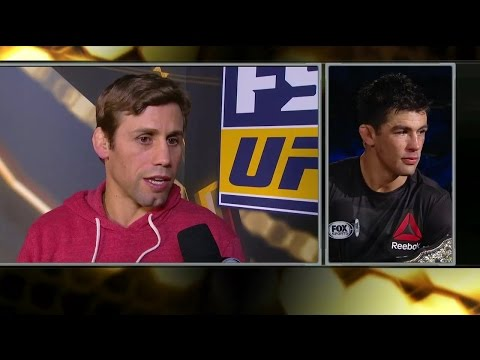 Urijah Faber issues challenge to new champion Dominick Cruz