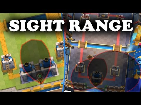 Unit & Building Sight Ranges | 2v2 King Tower Mechanics