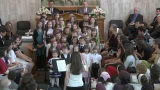Corul De Copii - Un Grupaj De Cantari, De Paste 2011 Biserica Penticostala Betel Oradea