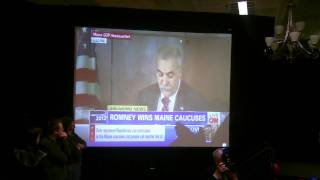 "Ron Paul Crowd Reacts to Maine GOP Caucus Fraud... ""Liars!"""