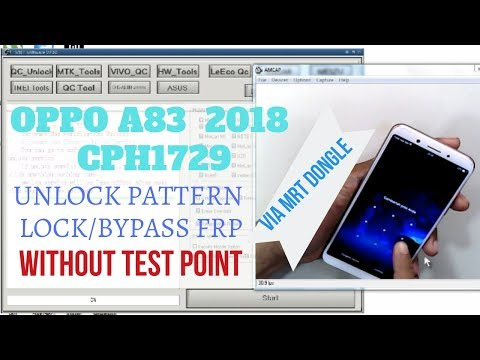 Hard Reset OPPO A83 2018 CPH1729||Reset Pattern Lock||Bypass
