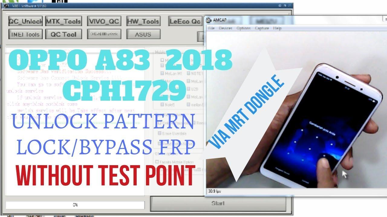 Hard Reset OPPO A83 2018 CPH1729||Reset Pattern Lock||Bypass Frp