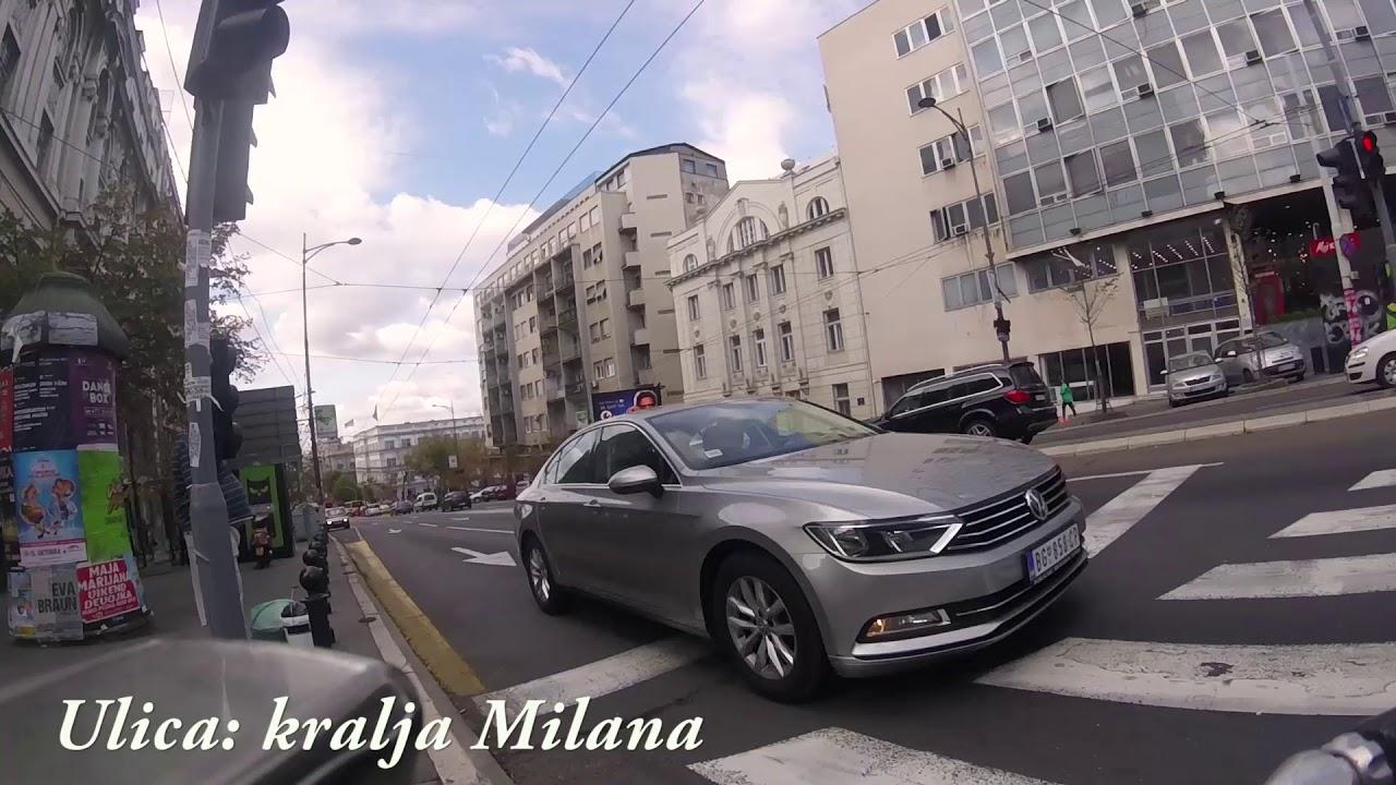 kralja milana mapa beograda Ulica kralja Milana Beograd   kralja Milana street Belgrade   YouTube kralja milana mapa beograda