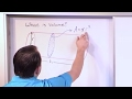 Lesson 3 - Calculating Volume With Integrals Using Cross Sections
