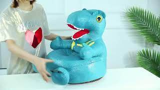 공룡 어린이 소파 유치원 아기 의자 공주 소녀 귀여운 …