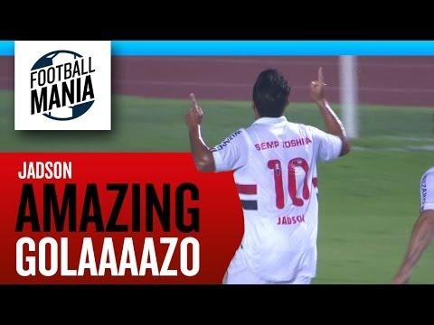 Amazing GOLAAAAZO - Jádson (São Paulo) Vs Nacional Medellín (COL)