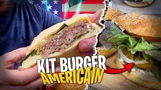 Dégustation d'un Kit Burger façon USA commandé en ligne...