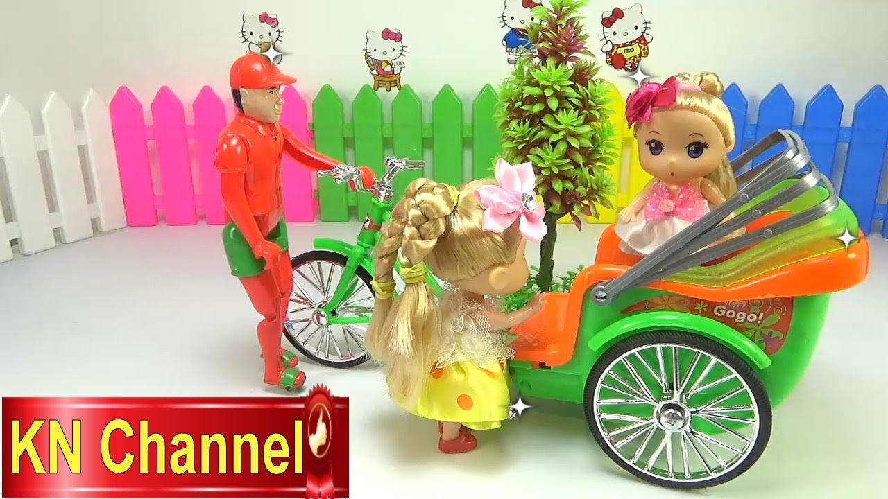 Đồ chơi trẻ em Bé Na Nhật ký Chibi búp bê Đi công viên Baby Doll Stop motion Kids toys