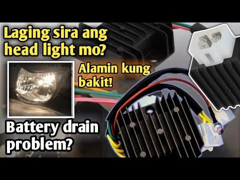 5pin regulator rectifier wiring diagrampaano malalaman kung ok pa or  palitin napart 1