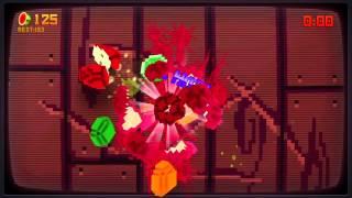Fruit Ninja Kinect: 8-Bit Cartridge Official Trailer