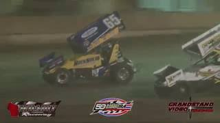 Wilmot Raceway IRA Sprint Car Highlights