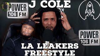 YOUNG SIMBA HAS RETURNED!!!! J Cole LA Leakers Freestyle (Reaction!!!)