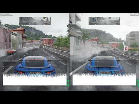 Project CARS 2 - Enhanced graphics vs. Resolution #2 (XB1X)