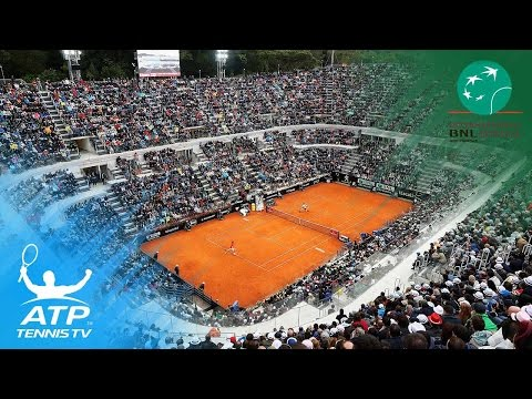 2017 Rome Open ATP World Tour Stars Practice Court