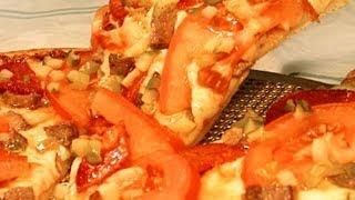 Готовим вместе:(Пицца на скорую руку)!