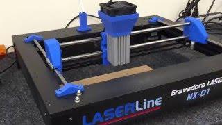 Gravadora e Corte Laser LASERLine NX-01 thumbnail