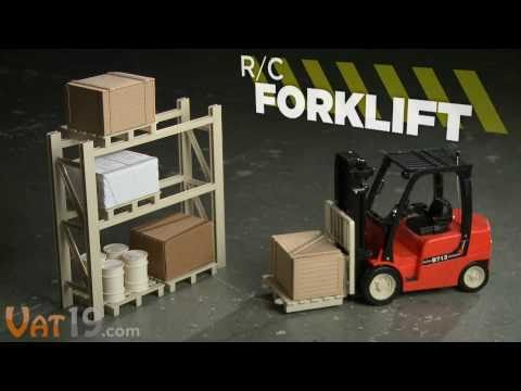 R/C Toy Forklift with Accessories