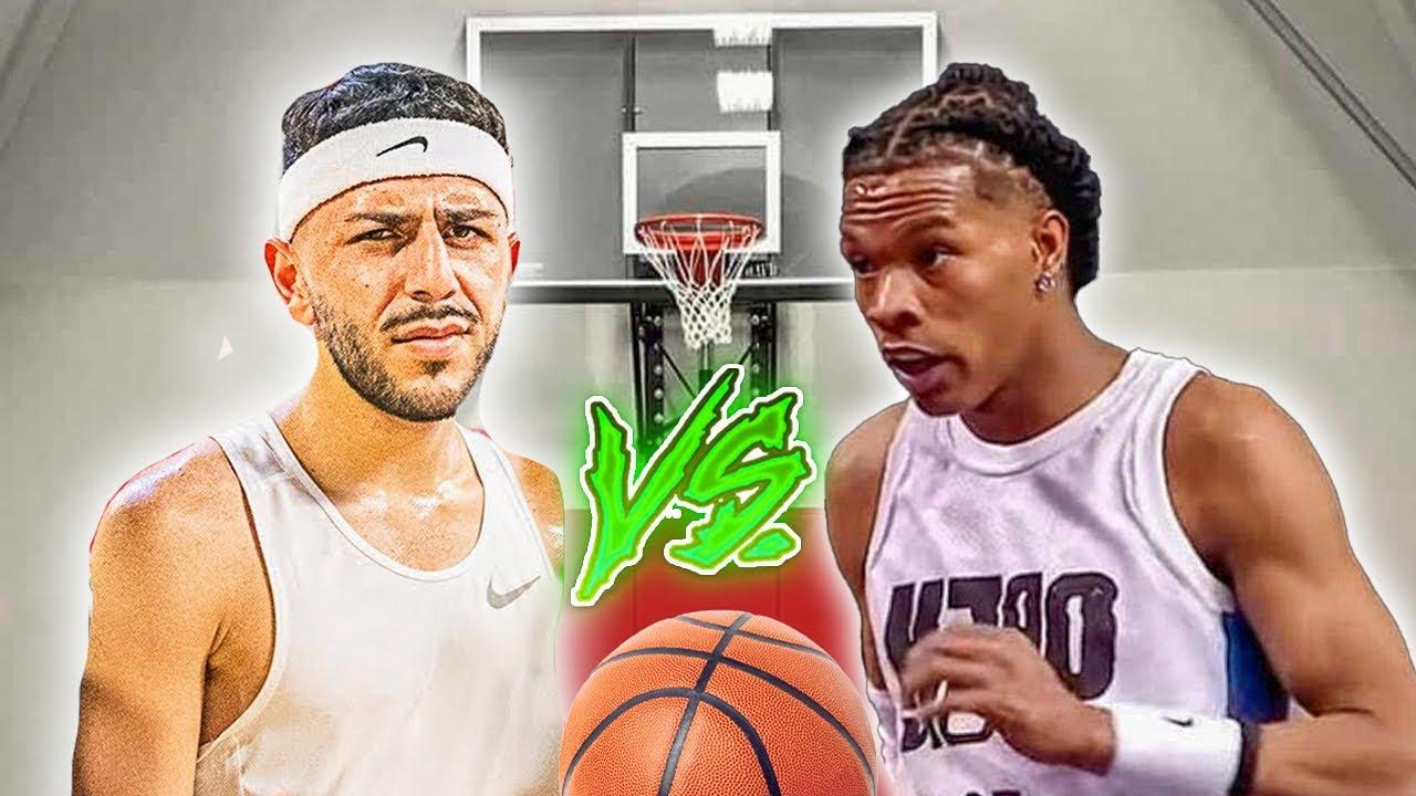 Brawadis VS Lil Baby Basketball 1v1!! *Challenging Him*