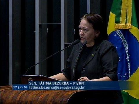 Para Fátima Bezerra, 'desconstruir' é a palavra de ordem do governo Temer