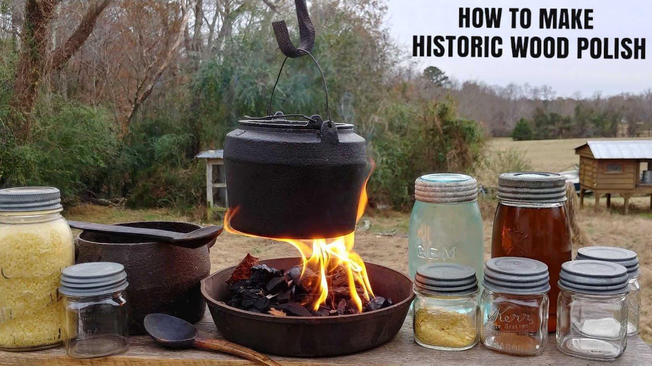 How To Make Historic Beeswax Carnauba Wax Linseed Oil