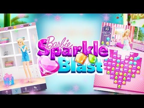 Barbie Sparkle Blast App Gameplay | Barbie