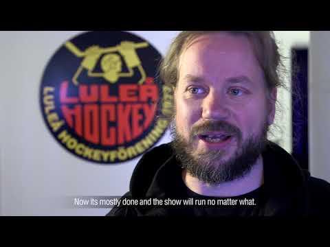 """COOP Norrbotten Arena Installation """"The Movie"""""""