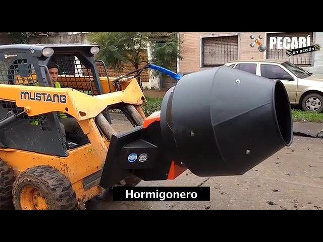 Implemento Hormigonero | Omar Marino
