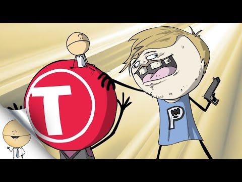 PewDiePie VS T-Series In A Nutshell