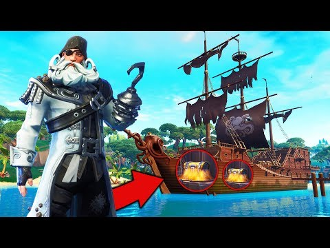 PIRATE SHIP ONLY Challenge in Fortnite