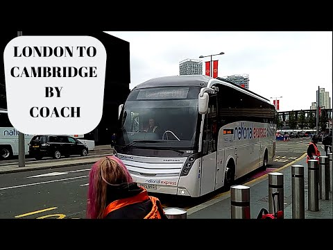London To Cambridge By National Express Coach
