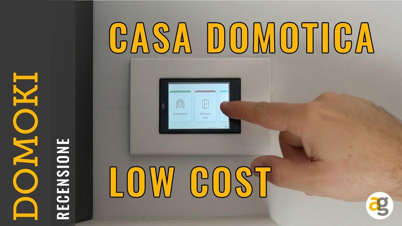 Recensione domoki casa domotica low cost youtube