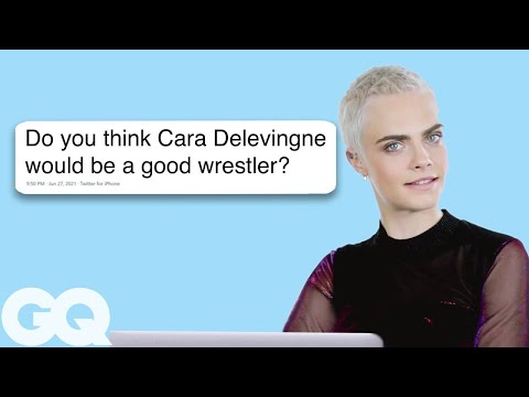 Thumbnail: Cara Delevingne Goes Undercover on Twitter, YouTube, and Reddit | Actually Me | GQ