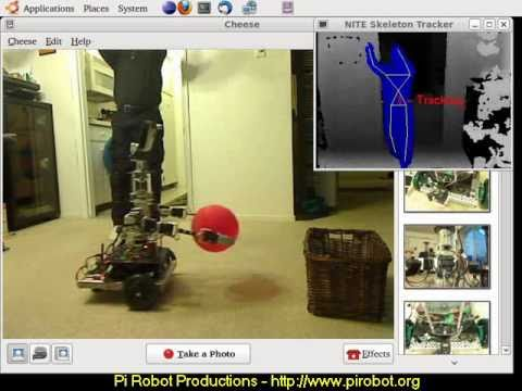 openni/Contests/ROS 3D/Skeleton Tracker Teleoperation Package for
