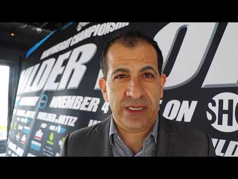'ID LIKE TO SEE ANTHONY JOSHUA v DEONTAY WILDER MADE SOON AS POSSIBLE?!!' - STEPHEN ESPINOZA