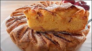 Яблочный Пирог 🍎(Шарлотка) Очень Быстро и Вкусно