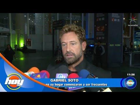 ¡Gabriel Soto sale en defensa de Irina Baeva! | Hoy