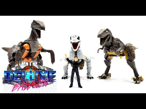 Beast Wars Dinobot: Evolution of Action Figures. (1995-2021) by Deluxe Baldwin