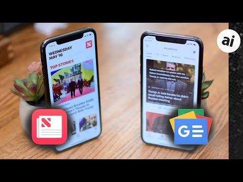 Showdown: Apple News Versus Google News on the iPhone