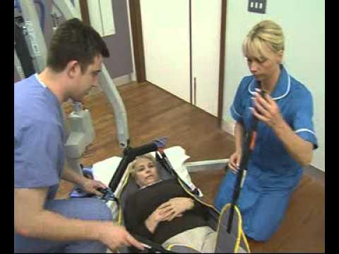 Oxford Advance Hoist Disability Aid Floor to Floor Transfer.mpeg