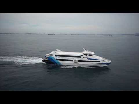 "Batam Aerial Video on The Sea ""Majestic Kawanua Ferri Sea Trial"""